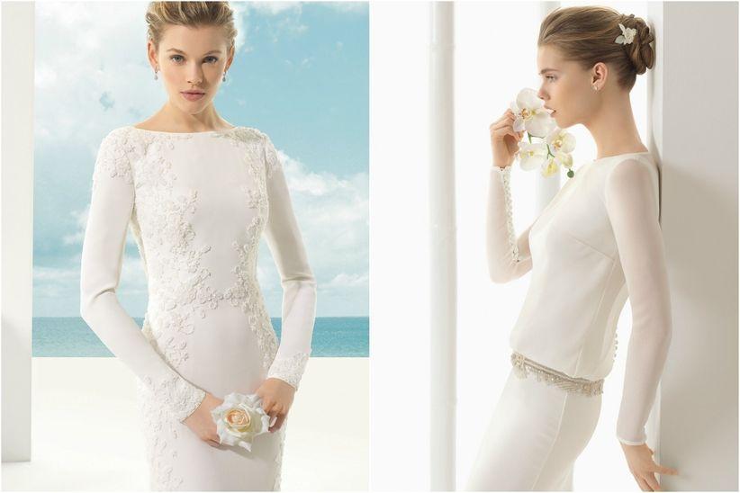 Diferentes clases de vestidos de novia