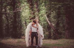 Sara y Micheal: un matrimonio cool en el país de las maravillas