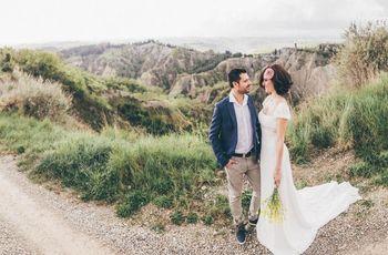 """""""El día después"""": el romance de Sara y Simón inmortalizado en las colinas de Siena"""