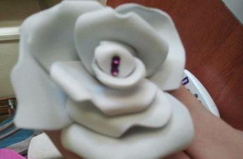 DIY: Recuerdos de goma eva para tu matrimonio