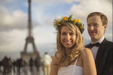 Camila y Lucas en París: un mágico reportaje de pre y post matrimonio