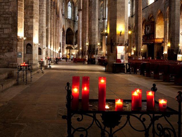 Decora la iglesia con velas