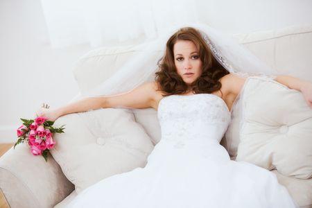 6 señales de una novia estresada