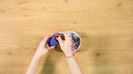 ¡Confecciona un lanzador de confeti DIY para tu matrimonio!