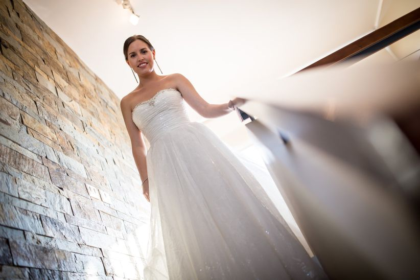 36fb1ee9f 4 tips para aumentar el volumen de la falda de novia