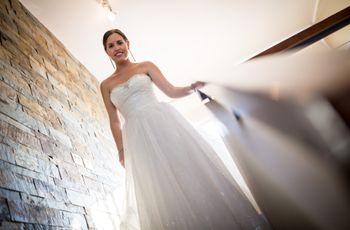 4 tips para aumentar el volumen de la falda de novia