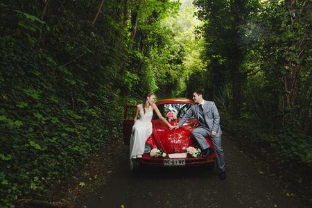 9 transportes originales para llegar al matrimonio