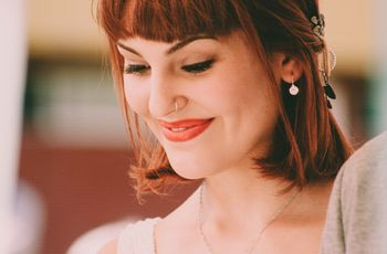 5 claves de maquillaje para novias pelirrojas