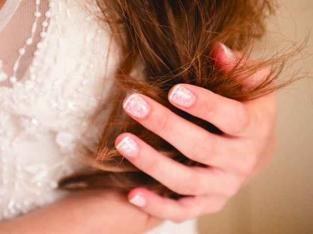 Tipos de manicure para la novia