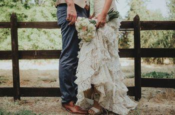 Vestidos de novia para bajitas: cómo elegir el ideal