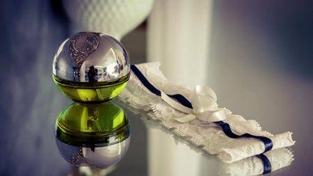 El perfume de la novia el día de su matrimonio