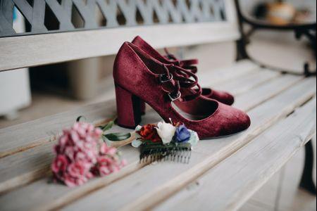 75 zapatos de color para una novia moderna