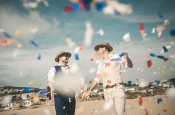 El matrimonio de Rubén y Osvaldo: un mágico enlace en familia