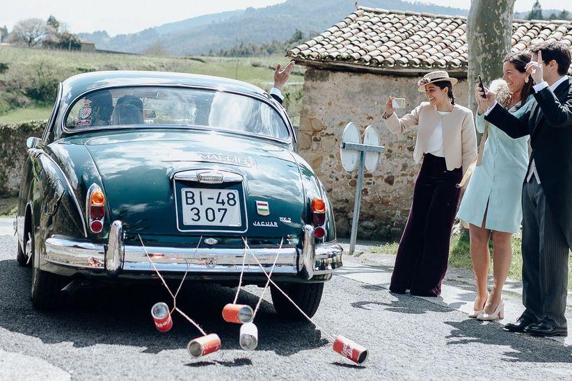 ¿Auto moderno o auto clásico para su matrimonio?