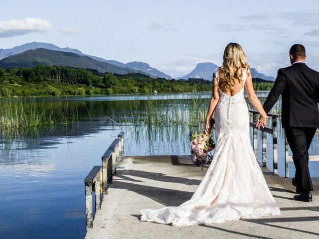 El matrimonio de Ignacio y Lindsay: un cuento de hadas en el sur de Chile