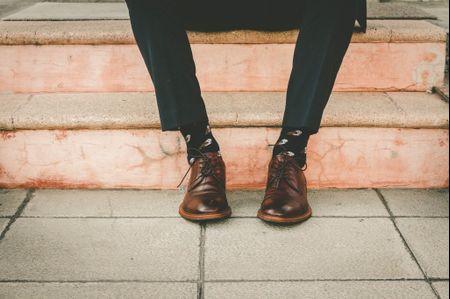 Los zapatos del novio