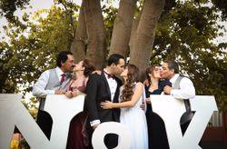 10 ideas para las fotos con los invitados del matrimonio
