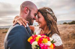 Marcela y Pau: un matrimonio rústico lleno de encanto