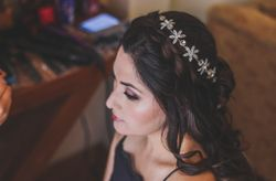 Peinados para novias con el pelo largo