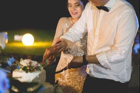 ¿Existe un protocolo para cortar la torta de novios?