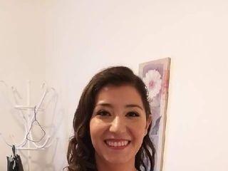 Caro Labrín make-up 6