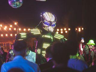 Show Robot Led 2