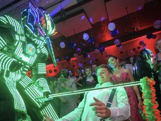 Robot Led Chile 2