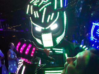 Robots led Lumix 4