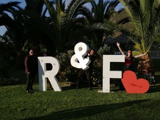 Letras Gigantes F&F 2