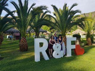 Letras Gigantes F&F 5
