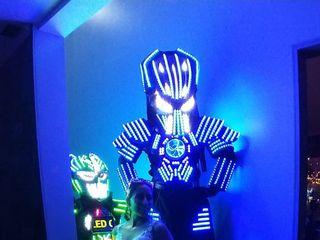 Robot Led Chile 1