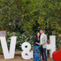 El matrimonio de Valentina Barros y Letras Gigantes F&F 6
