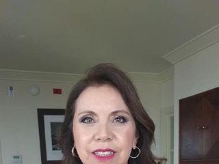 Caro Labrín make-up 3