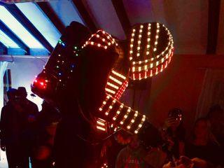 Robot LED Equis 1