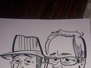 Los 3 Antonios Caricaturas 2