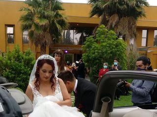 David Lombardo Wedding Car 1
