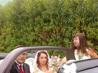David Lombardo Wedding Car 2