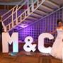 El matrimonio de Melissa Vargas y Letras Gigantes F&F 5