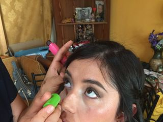Mónica Henríquez Maquillaje 6