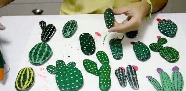 Separador Piedras Decorativas