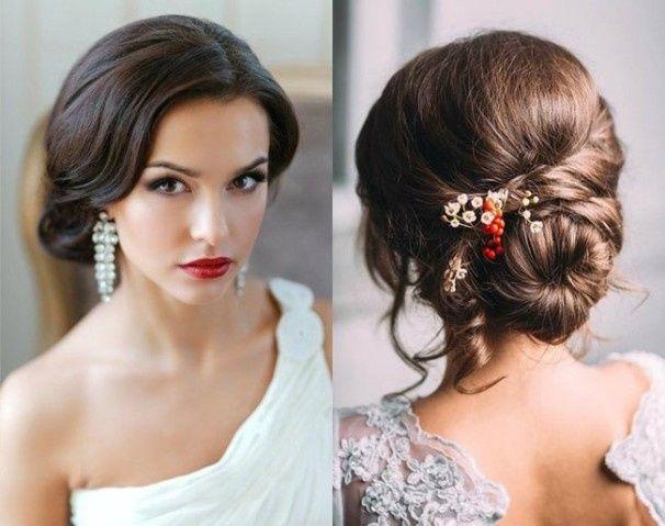 Peinados clásicos para bodas clásicas. 2