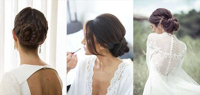 Peinados clásicos para bodas clásicas. 10