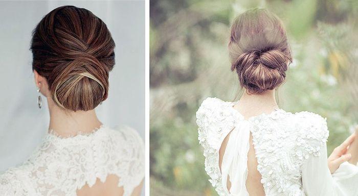 Peinados clásicos para bodas clásicas. 11