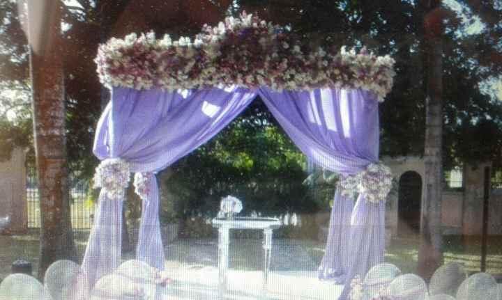 Quien uso lila o morado para decorar el salon ???? - 2