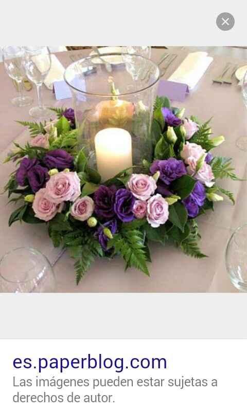 Quien uso lila o morado para decorar el salon ???? - 8