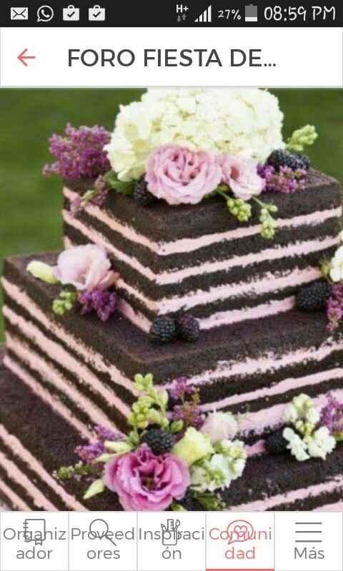 ¿Qué sabor escogerán para la torta? - 1