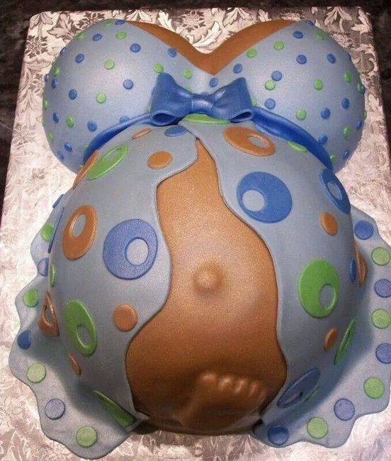 Pasteles De Baby Shower Pancita De Embarazada