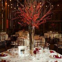 Busco ideas centros de mesa para Manteleria roja - 5