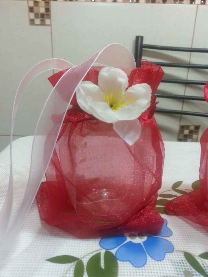 decoración final del frasco