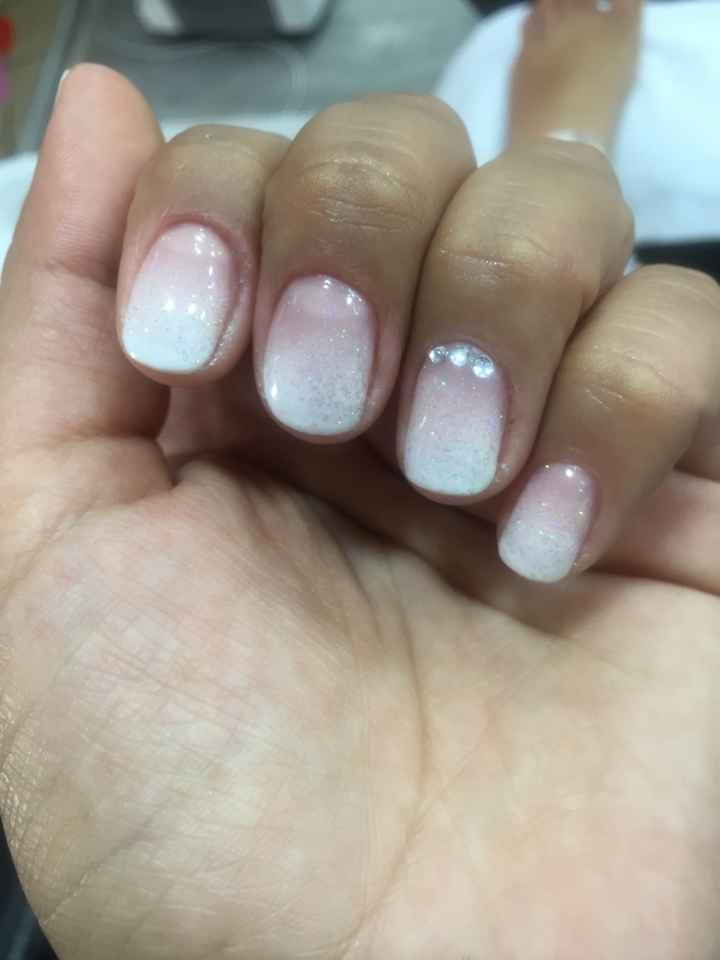 10 estilo de manicure color nude - 1